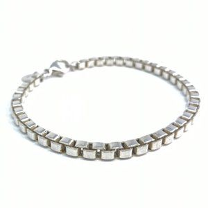 Authentic Tiffany Venetian Link Bracelet AG925